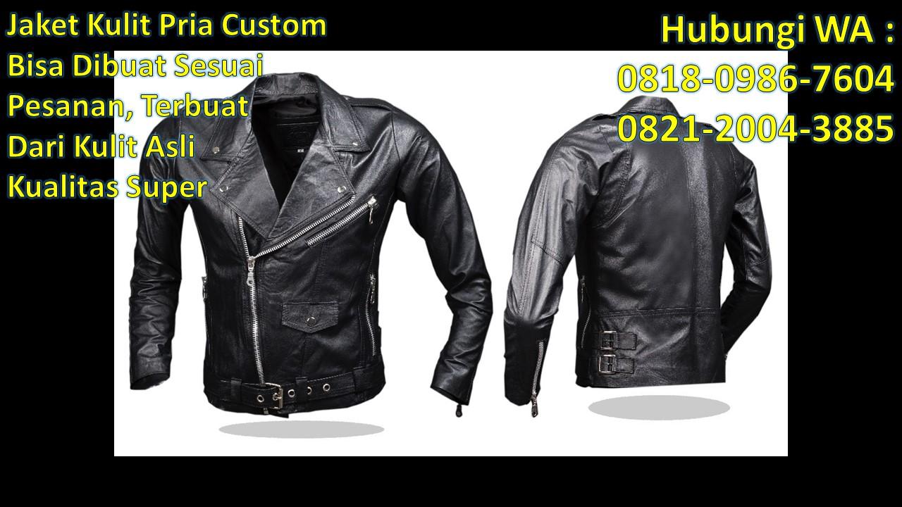 Tempat jual beli jaket kulit di bandung WA   0818-0986-7604 Telp    0821-2004-3885 Informasi Foto jaket kulit priaJaket kulit pria hitam 21332c1705